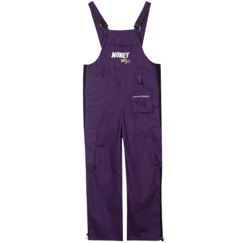 Purple Money Overall