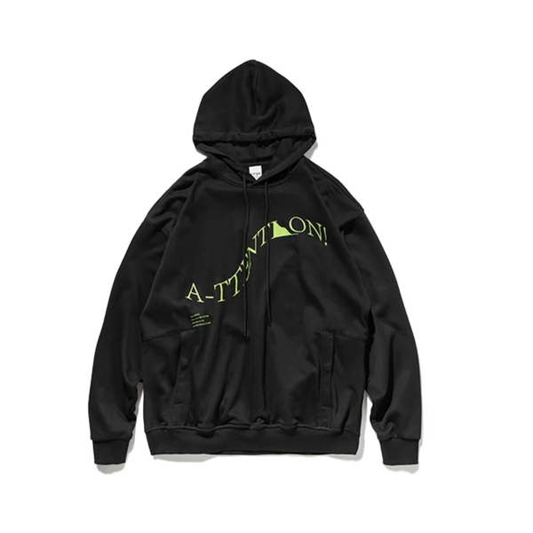 Attention Hoodie by Mighty Mighty