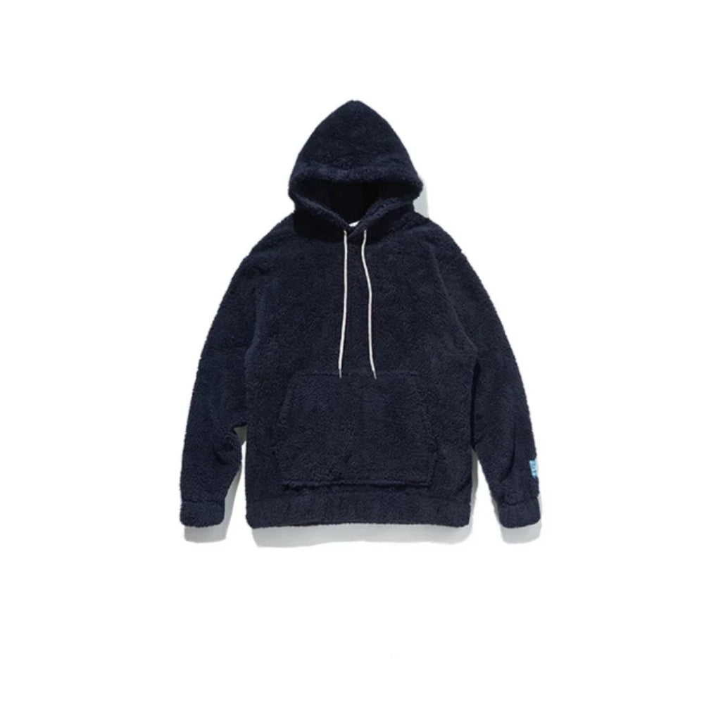 Blue Oversize Fleece Teddy Sweatshirt by Mighty Mighty