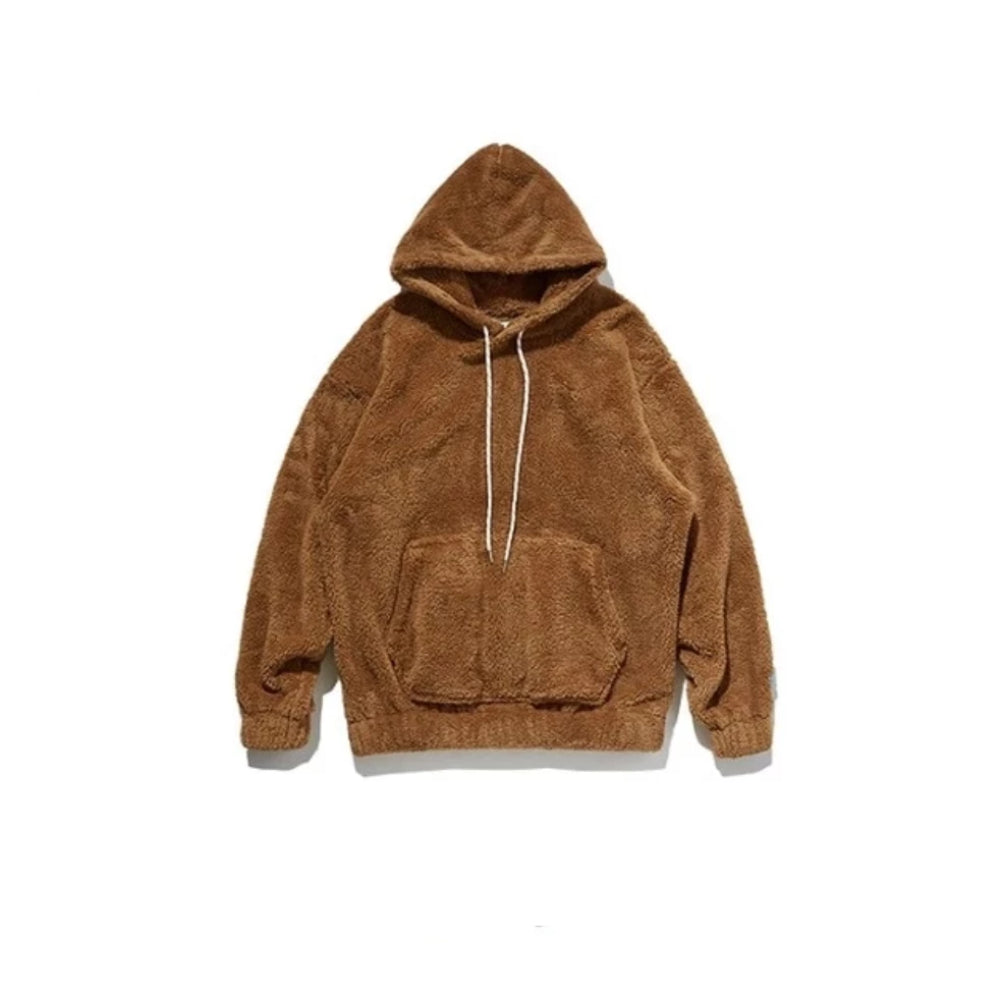 Khaki Oversize Fleece Teddy Sweatshirt by Mighty Mighty