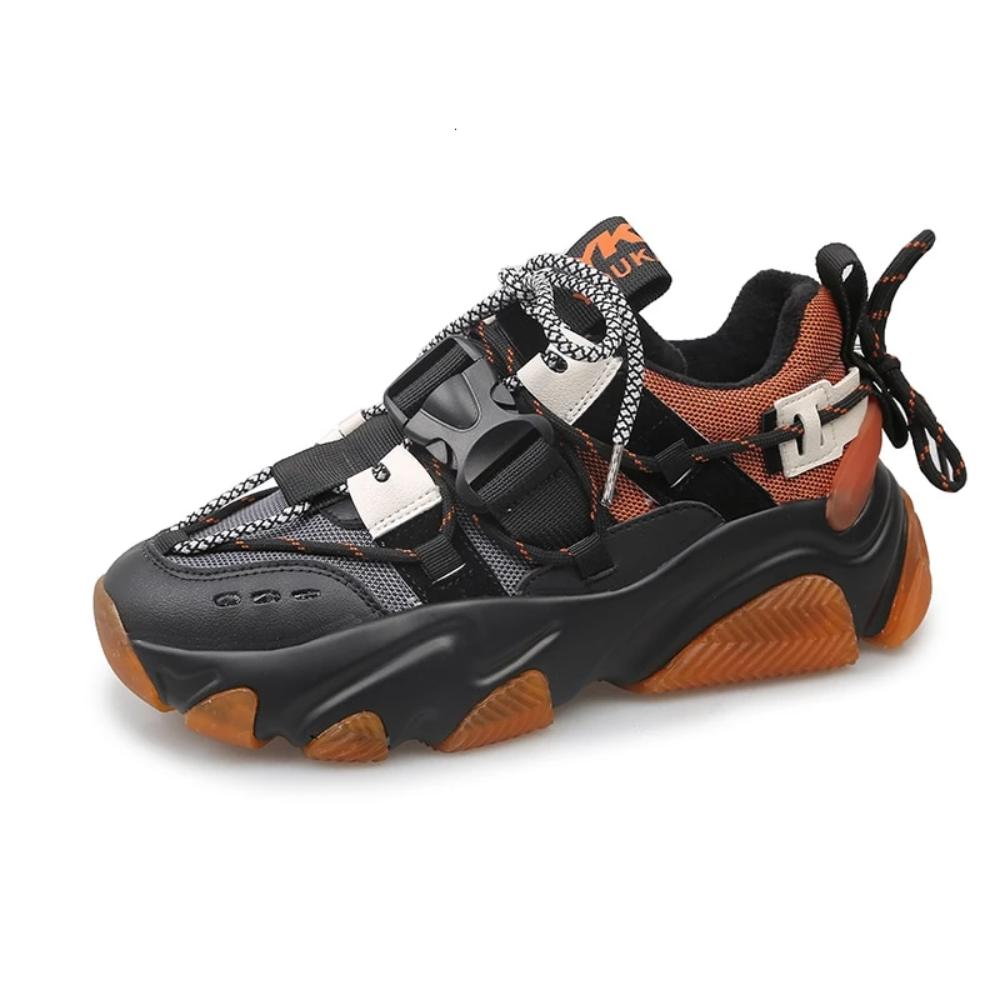 Orange MM Hybrid Sneaker by Mighty Mighty