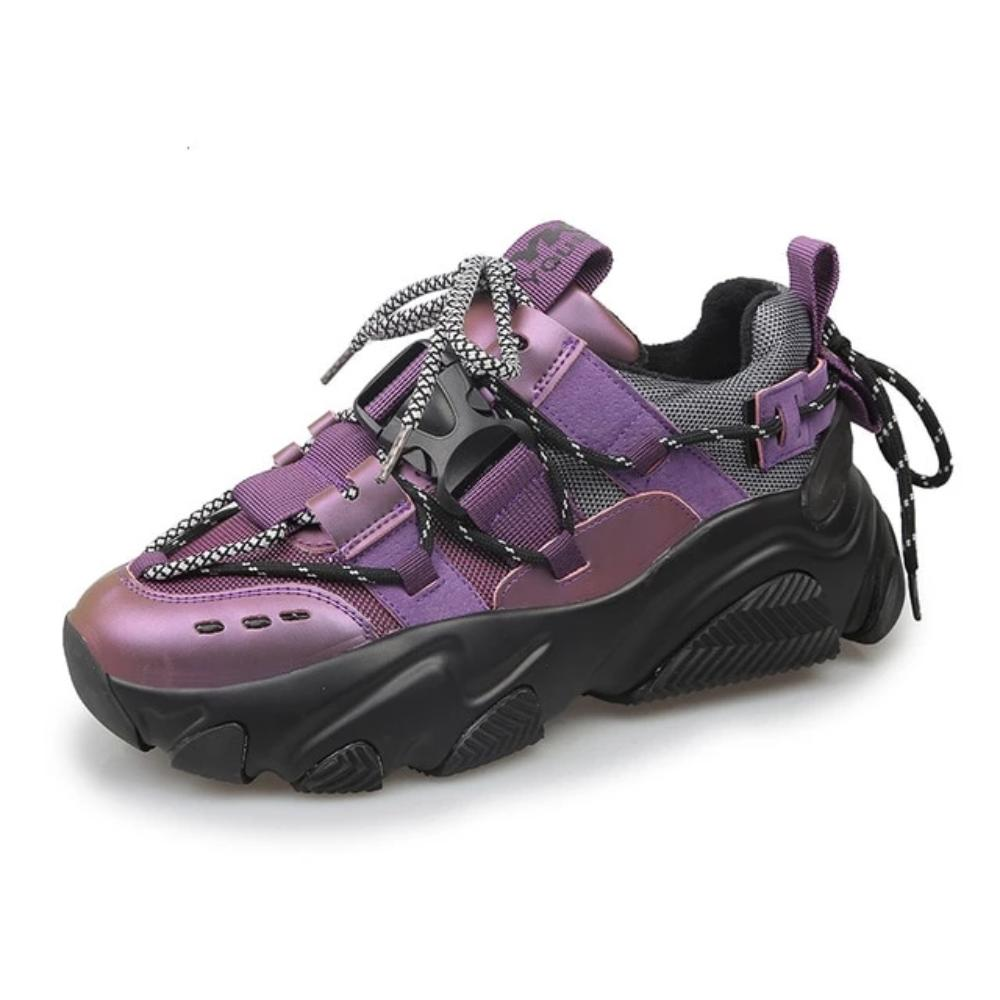 Purple MM Hybrid Sneaker by Mighty Mighty