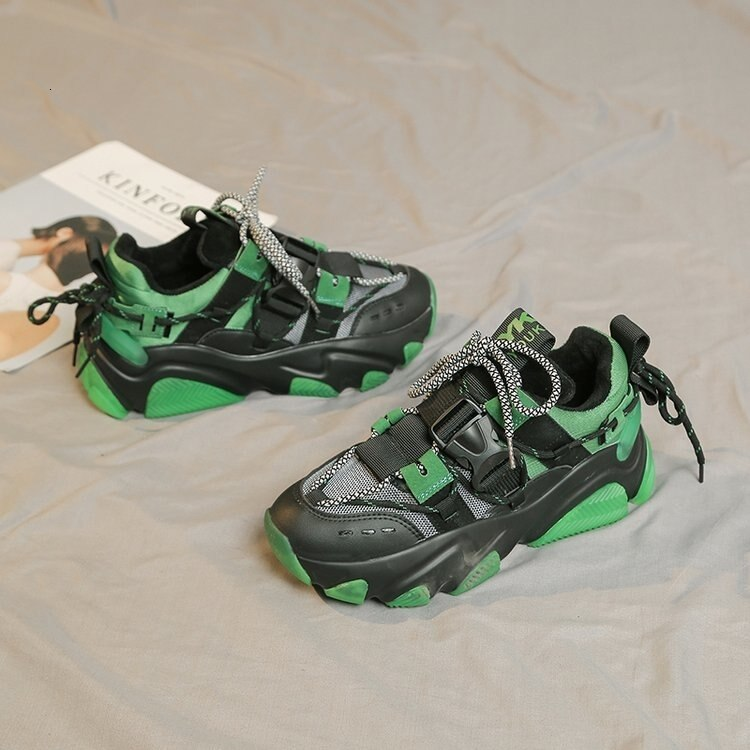 Green MM Hybrid Sneaker by Mighty Mighty