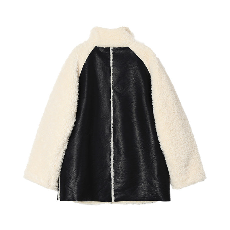Sherpa Patchwork Coat by Mighty Mighty