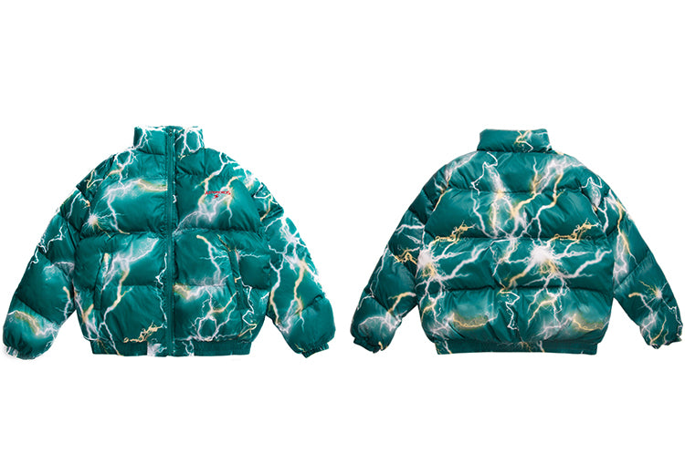 Asteroids Lightning Puffer Coat