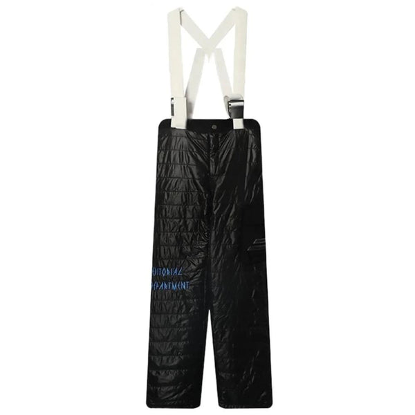 Black Editorial Dept. Ski Pant by Mighty Mighty