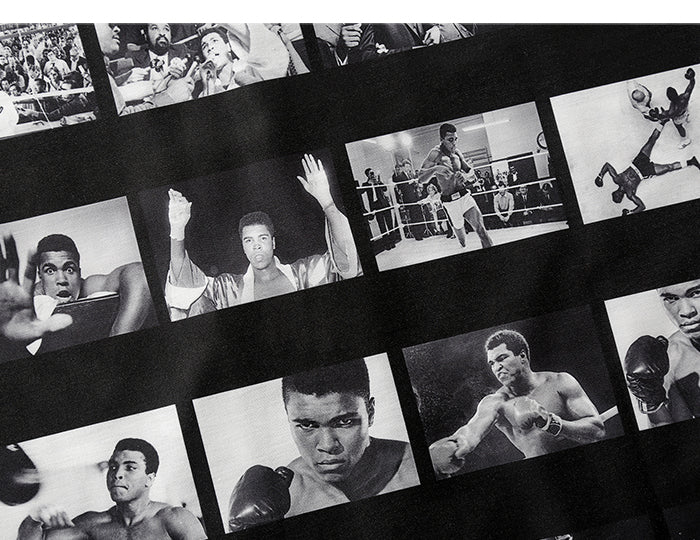 Black Muhammad Ali Photo Shirt