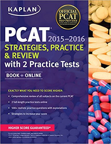 Kaplan PCAT 2015-2016 Strategies