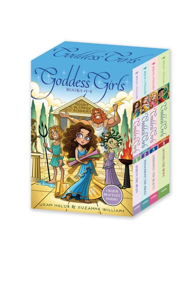 Goddes girls books 1-4