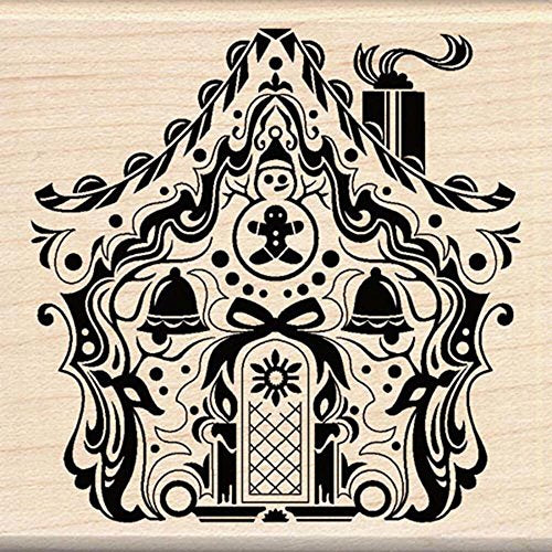 Inkadinkado Mindscape Holiday House Wood Stamp