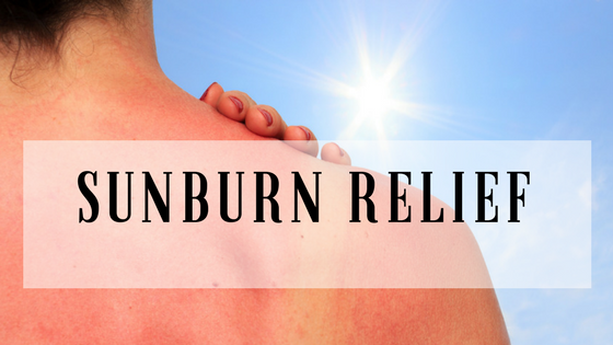 Sunburn Information and Relief