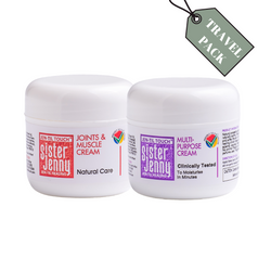 Sister Jenny Cream Travel Pack