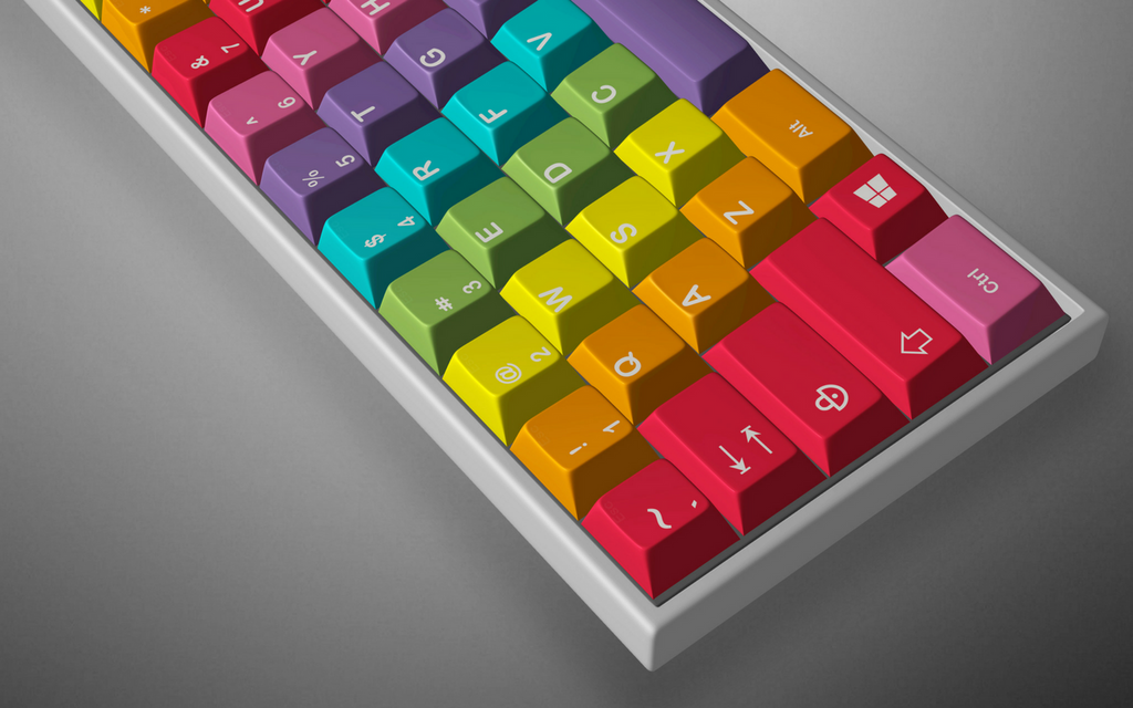 [Group buy] GMK Rainbow - Limited Edition-zFrontier