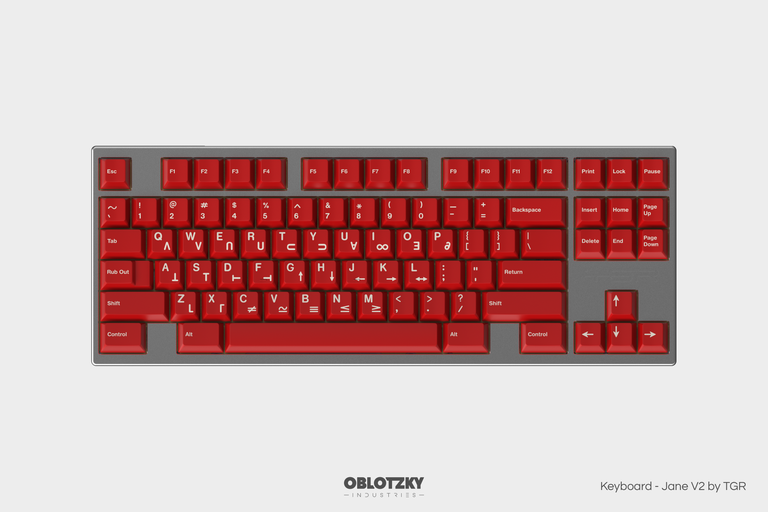 [In Stock] GMK Crimson Cadet-zFrontier