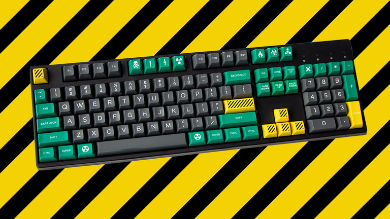 [In Stock] Domikey SA Crisis ABS Doubleshot Keycap Set-zFrontier