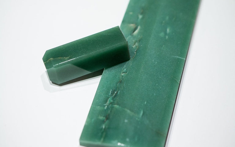 [Made to order] Custom Aventurine Wrist Rests from GemNerd-zFrontier