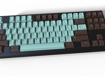 [In stock] GMK Mint Chocolate - zFrontier Exclusive-zFrontier