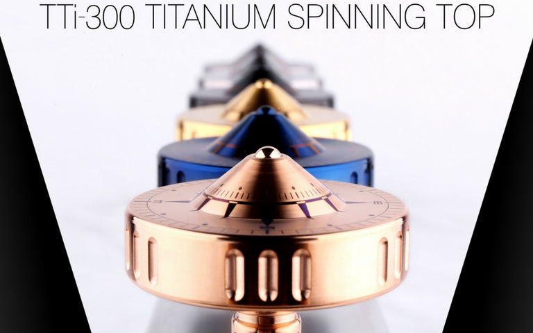 [Group buy] Vortex TTi-300 Titanium Spinning Top-zFrontier