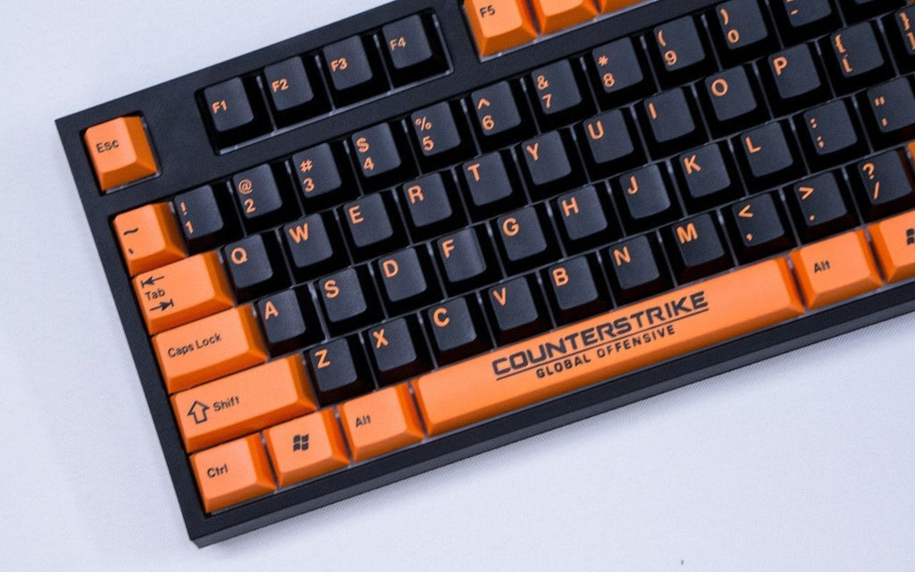 [In stock] JTK Orange on Black