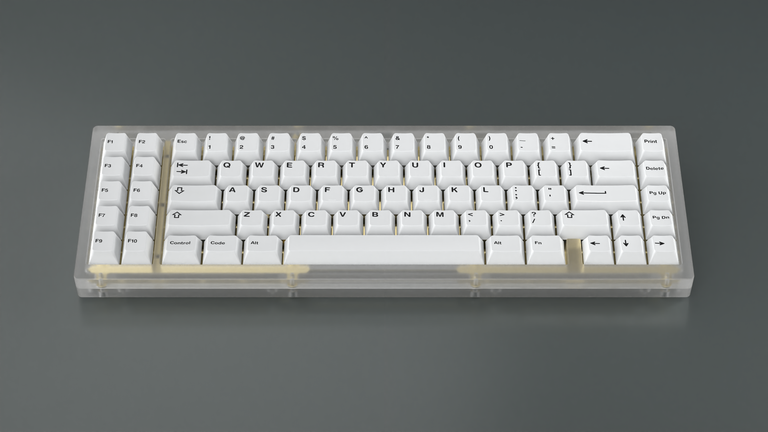 [Group buy] GMK Bleached-zFrontier