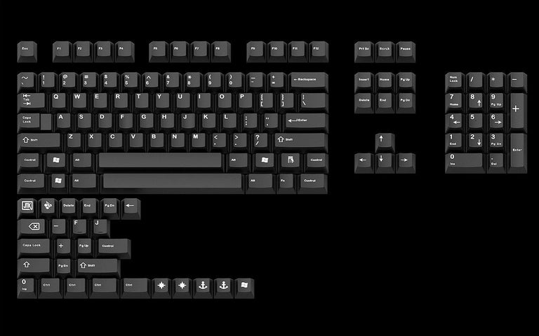 JTK White on Black - zFrontier Exclusive-zFrontier