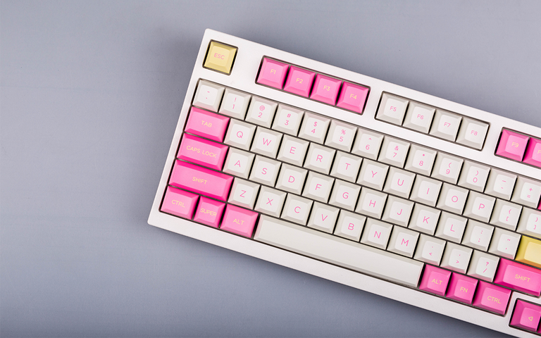 [In Stock] DSA Peach Air-Dyesub Keyset from Keyreative-zFrontier
