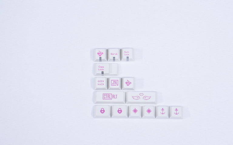 [In stock] JTK Pink on White-zFrontier
