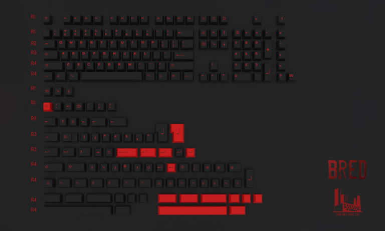 [Group buy] BRED PBT BY INFINIKEY-zFrontier