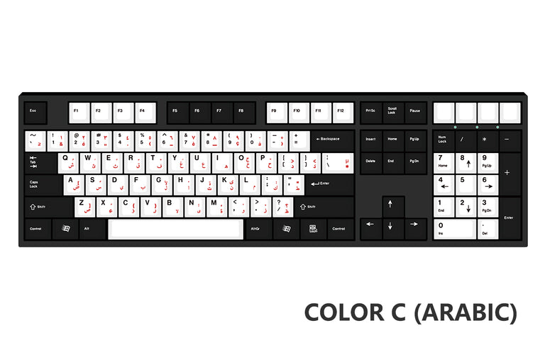 [Made to Order] Keyreative UV DRAWING ABS Keyset - Multilingual-zFrontier