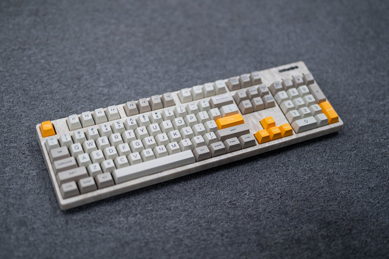 [In Stock] Domikey SA Classic Beige ABS Doubleshot Keycap Set-zFrontier