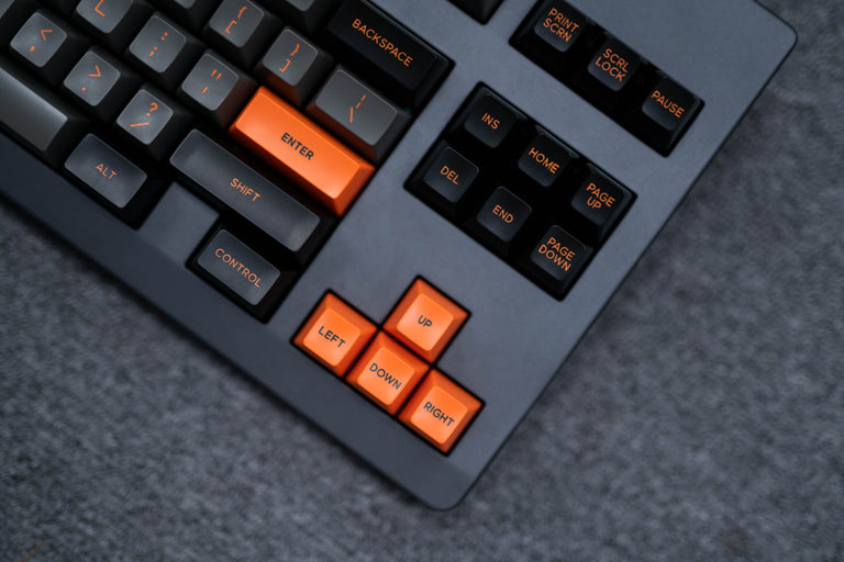 [In Stock] Domikey SA Dolch Orange ABS Doubleshot Keycap Set-zFrontier