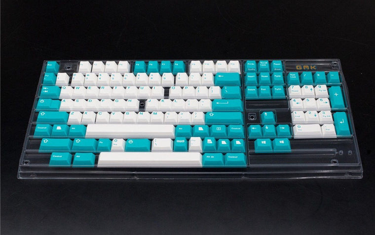 [In stock] GMK Cyan - zFrontier Exclusive Keyset-zFrontier