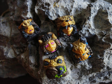 [Group buy] GSK Golden Gang & Infinity Gang Resin Artisan Keycaps-zFrontier