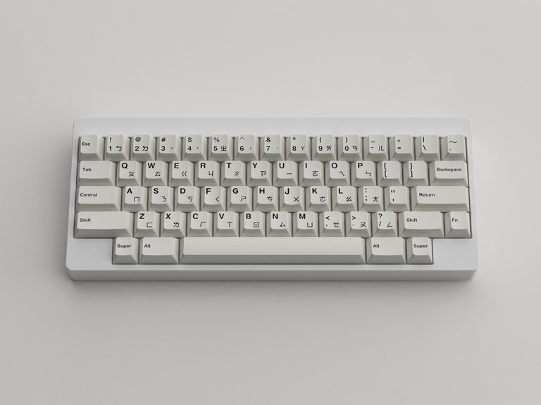 [Group buy] GMK Zhuyin-zFrontier