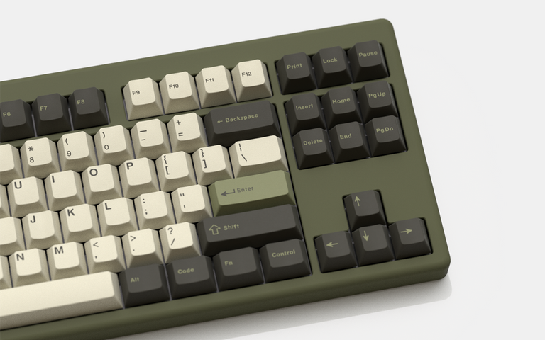 [Group buy] GMK Olive-zFrontier