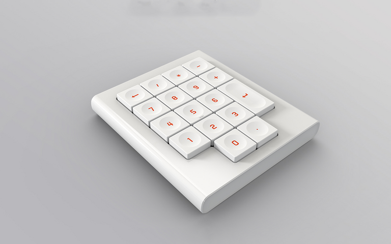 [Pre Order] Morgrie RIE 17 Wireless Low-Pro Mechanical Numpad-zFrontier
