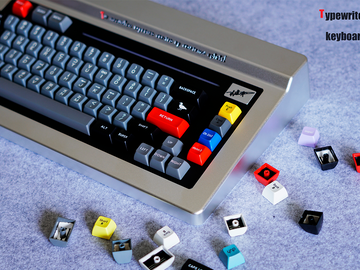 [Group buy] Typewriter 68 Custom Mechanical Keyboard-zFrontier