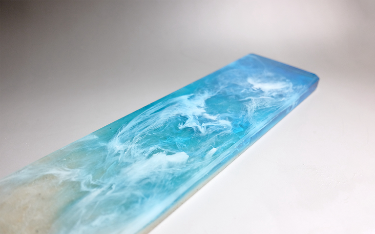 [Group buy] The Beach - Resin and Quartz Sand Wrist Rests by Orange-zFrontier
