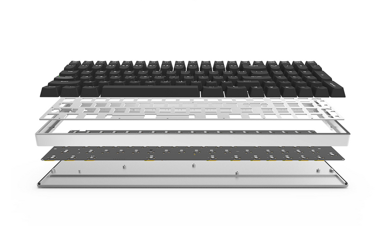 [Pre Order] Aurora 96 Hot-Swappable Aluminum Mechanical Keyboard-zFrontier