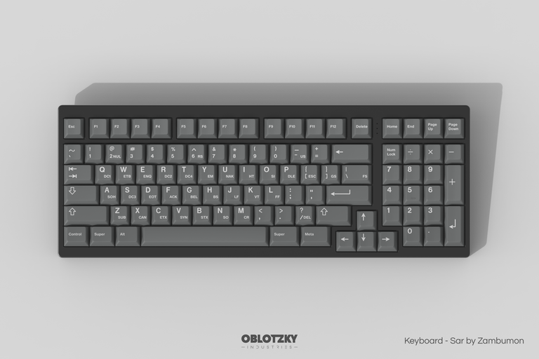 [Group buy] GMK ASCII-zFrontier