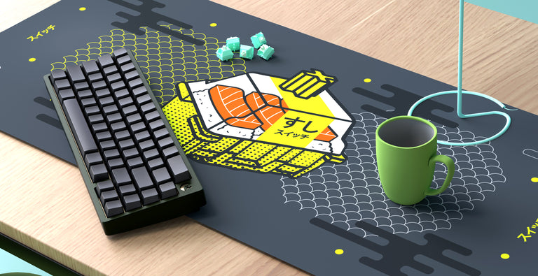 [Group buy] Sushi Suitchi Deskmat-zFrontier