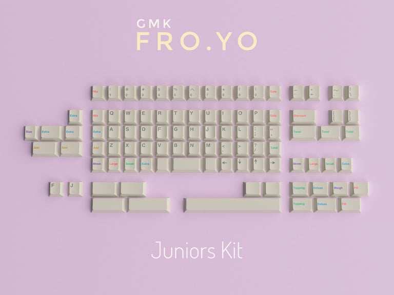 [Group Buy] GMK Fro.yo-zFrontier