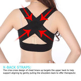 Women Chest Posture Corrector Support Belt Body Shaper Corset Shoulder Brace for Health Care - orian gifts