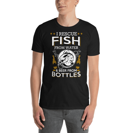 I Rescue Fish From Water T-shirt - orian gifts