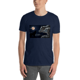 Wolves Under Moon T-shirt - orian gifts