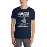 I Am A Warrior T-shirt - orian gifts