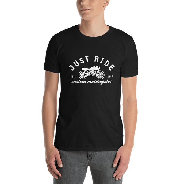 Just Ride Custom Motorcycles T-shirt - orian gifts