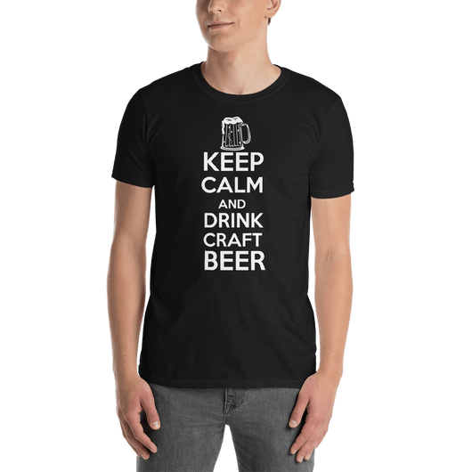 Keep Calm And Drink Craft Beer T-shirt - orian gifts