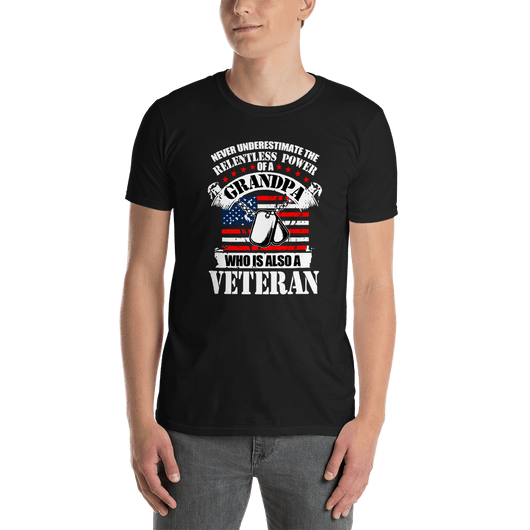 VETERAN SOLDIER T-SHIRT - orian gifts