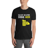 Save Water Drink Beer T-shirt - orian gifts